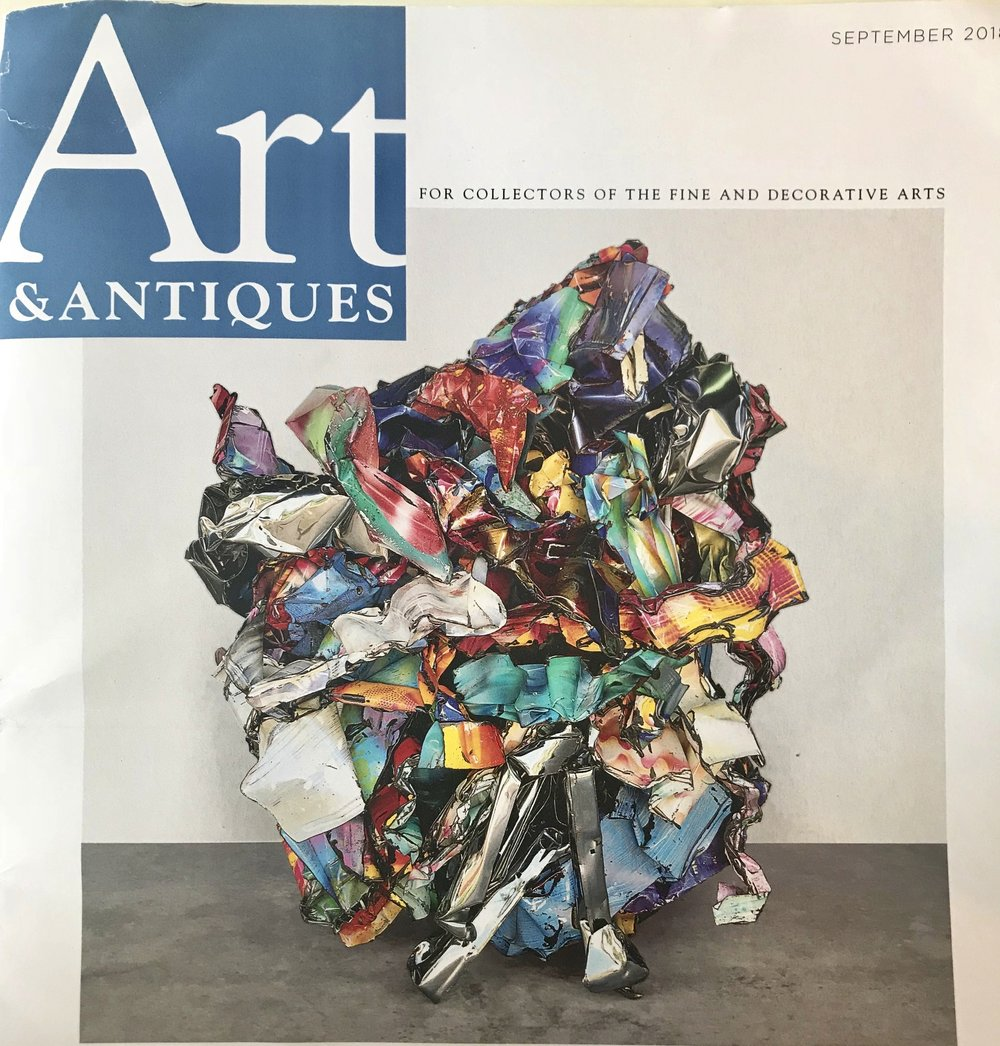 A GOOD FIT - John Chamberlain found his own art materials where no one else was even looking and assembled them as a poet assembles words.