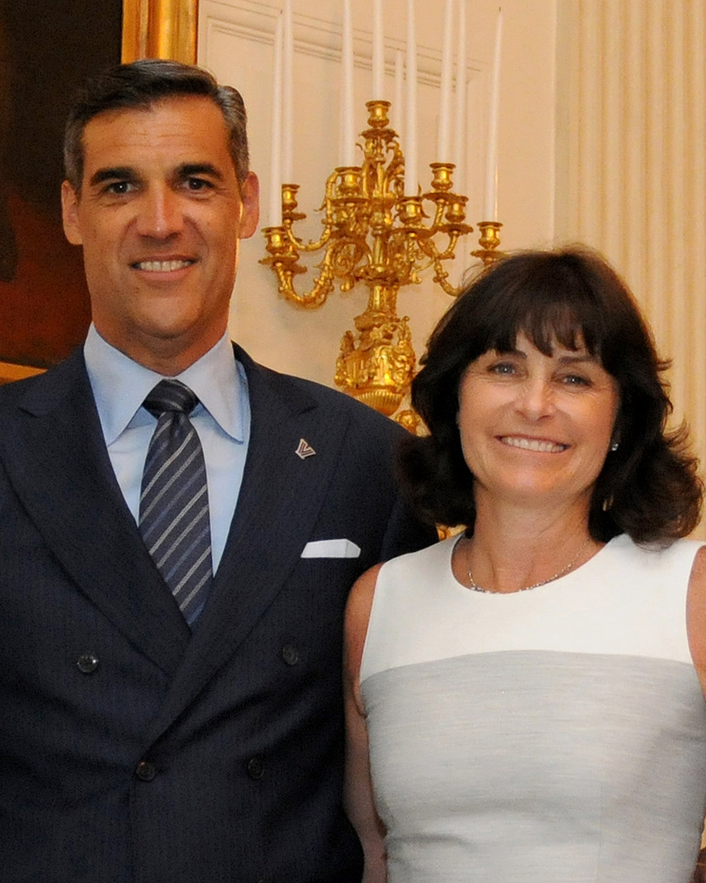 Inaugural Recipients: Patty and Jay Wright