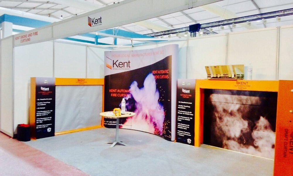 Our Stand at Big 5 Saudi 2017, all prepped up for the opening day on the 27th March 2017