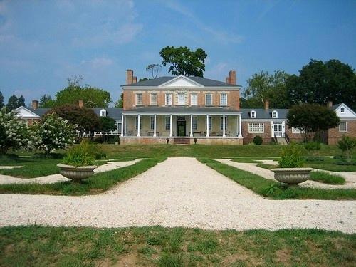 Sabine Hall Garden