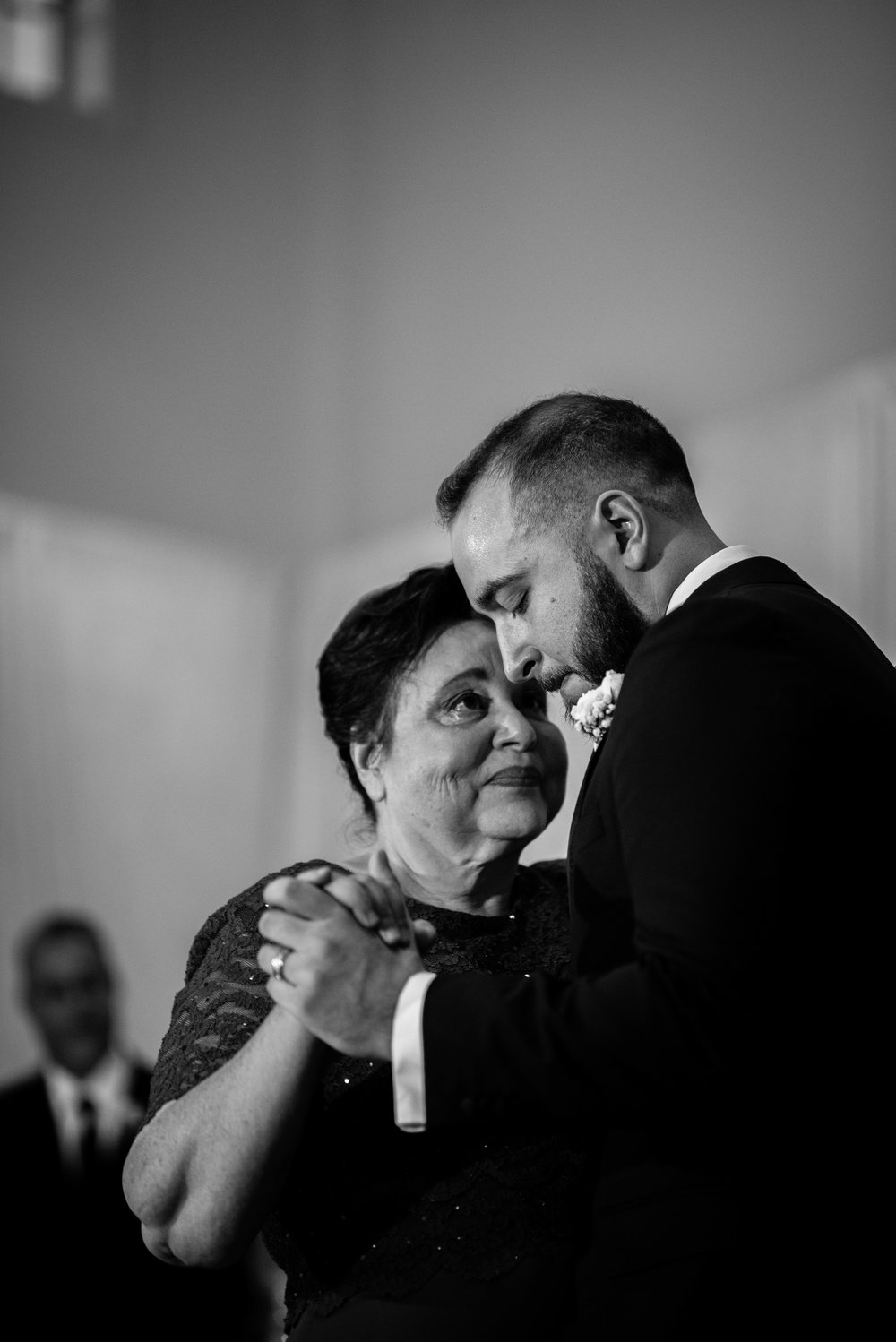 I'll admit it: I really love a picture that nearly - or maybe totally - makes me cry when I see it. At  Josh and Raquel's wedding I really enjoyed Josh's mom; she was just the sweetest, with a lot of love for her son. When I was photographing them dancing, I vividly remember stepping back and just watching and actually tearing up, which rarely happens, but when it does I gain even more resolve to capture the moment as it was.