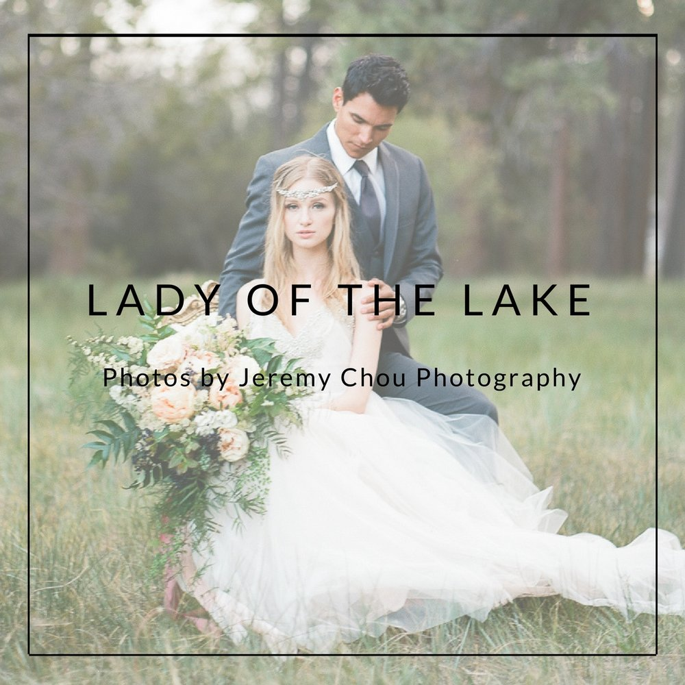 LADY OF THE LAKE Photos by Jeremy Chou Photography