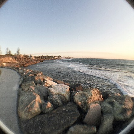 #Snaplens fisheye beach feels. #fisheyesnap #180degrees #summertime #mobilelens #mobilephotography #iphone6s