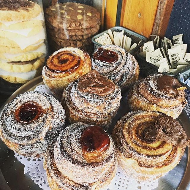 Come get them #cruffin #pukyeah 😛✊🏻