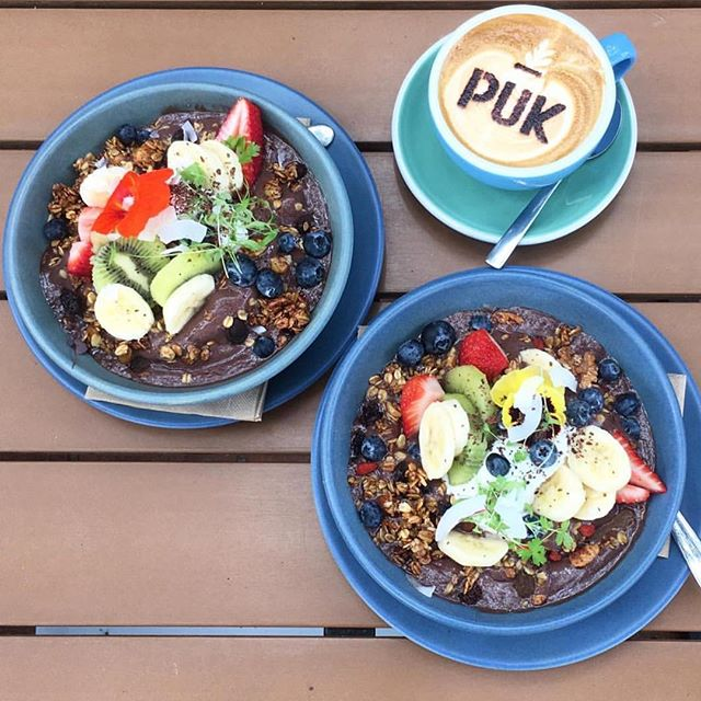 Sweet Sunday's #pukyeah #acai #moonshinecoffee ✌🏻🌼