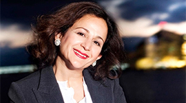 ATEFEH RIAZI  CHIEF INFORMATION TECHNOLOGY OFFICER ASSISTANT SECRETARY-GENERAL  UNITED NATIONS