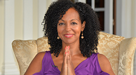 DR. TERESA KENNEDY  CEO & FOUNDER  POWER LIVING ENTERPRISES   YOUNG GLOBAL LEADER