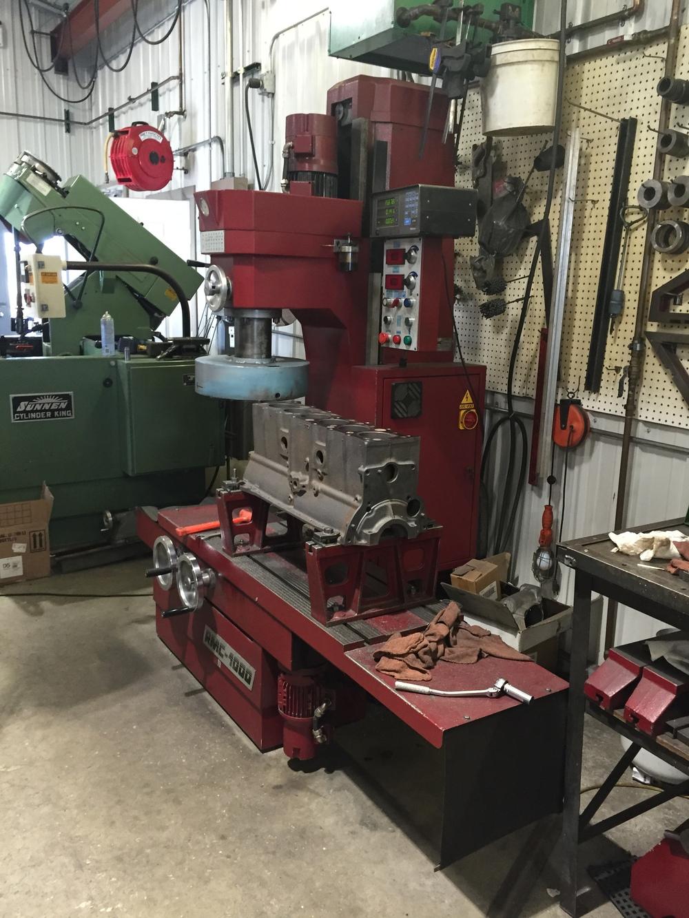 s automotive machine shop