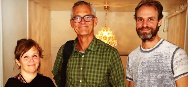 Kia Berglund, Johan von Schreeb och Josef Säterhagen