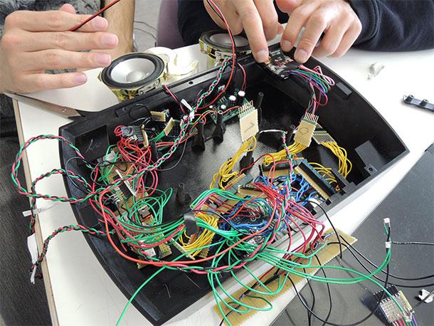 Shuffle Sound Prototype Electronics