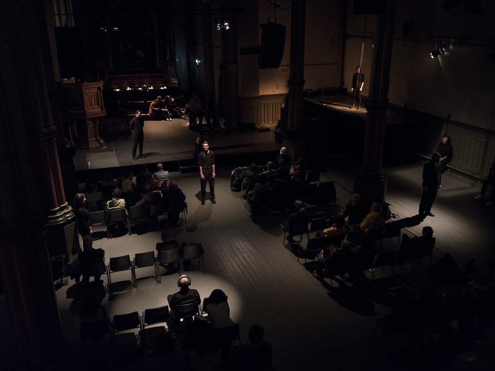 Winter Choir: Kulturkirken Jakob . With Ensemble 96. Photo by Vegard Kleven.