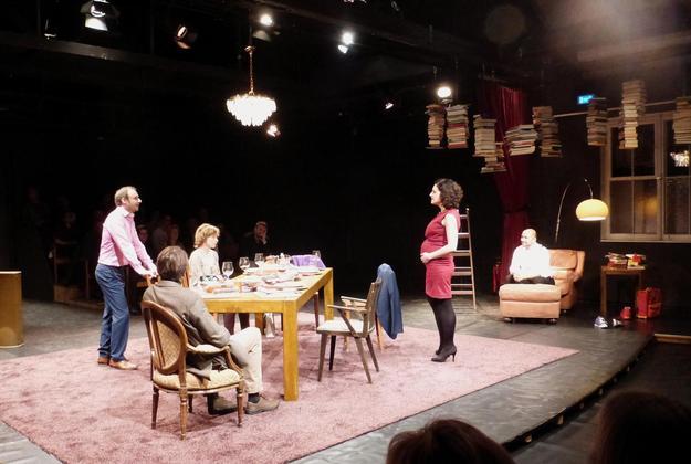 """""""Der Vorname"""" am Theater Ravensburg (Foto: Anne Hund)"""