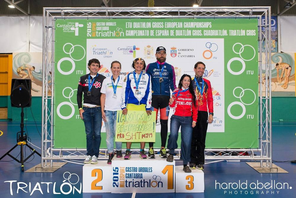 Campeón de España de Triatlon