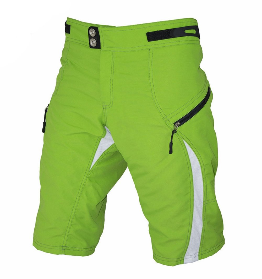 Bermudas Enduro Verdes - BEST FOR BIKERS