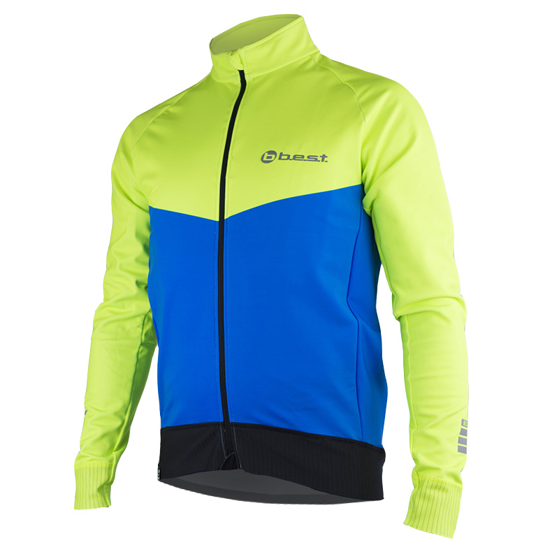 Chaqueta Térmica Ciclismo HI-VIS - BEST FOR BIKERS
