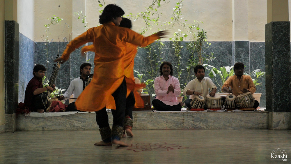 Sri Saurav & Gaurav Mishra - Kathak dancers hailing from a legendary family of artists, musicians and dancers - Benares, India.