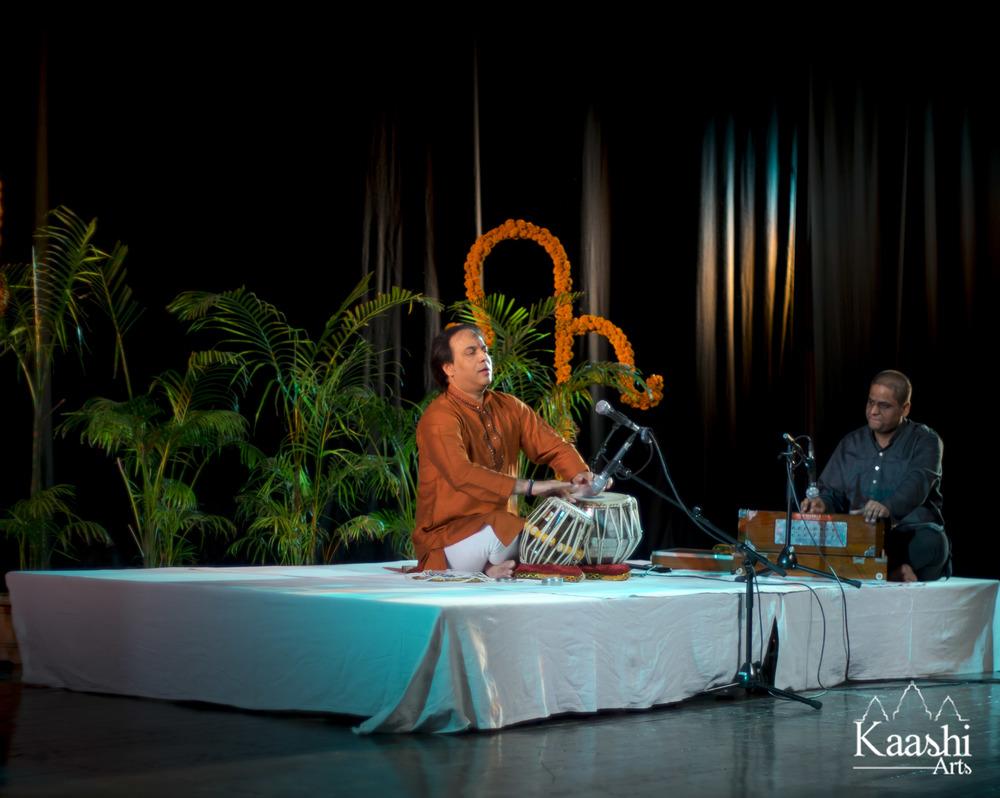 The Kala Samridhi Samman Award (Pandit Birju Maharaj Parampara), presented to Pandit Sanju Sahai Ji by Pandit Jai Kishan Maharaj ji & Smt Kavita Misra Ji