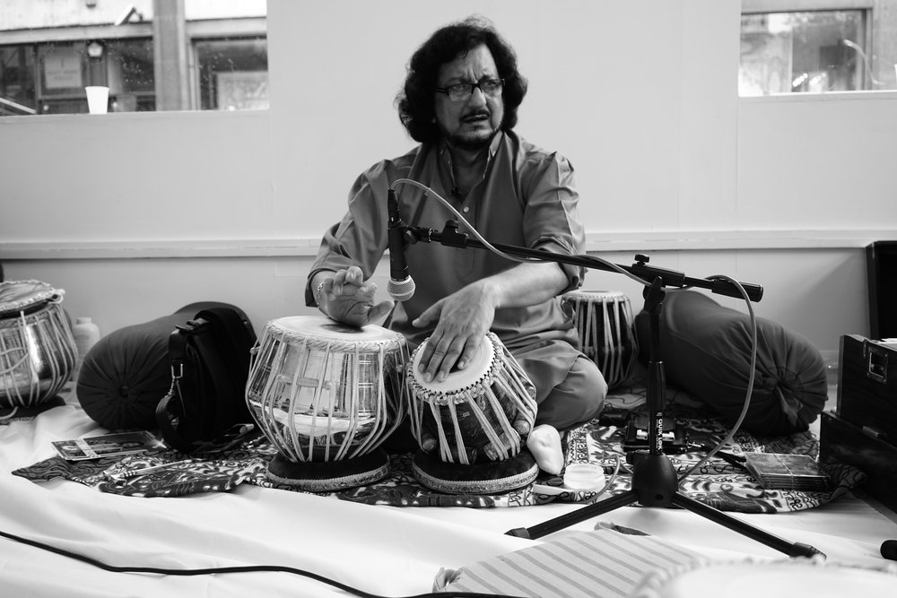 A Masterclass with Pandit Kumar Bose  | Mayfair, London | September 2016  Kaashi Ashram (our educational arm) launched officially with a very special masterclass held in London's Mayfair. Tabla players and musicians spent the day with Pandit ji learning about techniques focused on Practice, Performance & Presence.    This event marks the beginning of Kaashi Ashram's masterclass & workshop offerings.   Stay tuned!