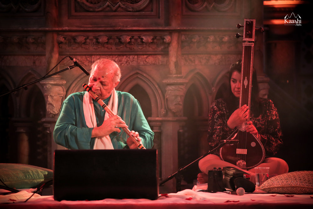 Pandit Hariprasad Chaurasia Ji in concert | London, June 2017