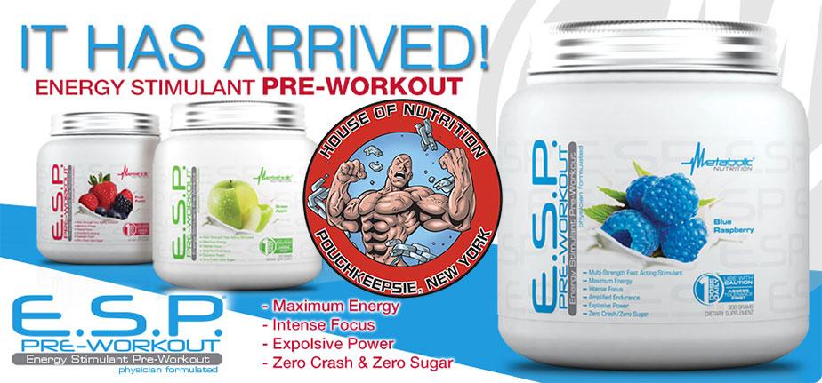 E.S.P. Pre-Workout
