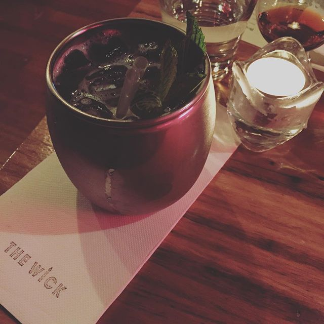 When the bar makes you an alcohol free Moscow Mule you don't feel so weird about being the guy who doesn't drink! Thanks @thewickwinebar @mexicocityau for great food and a great night!