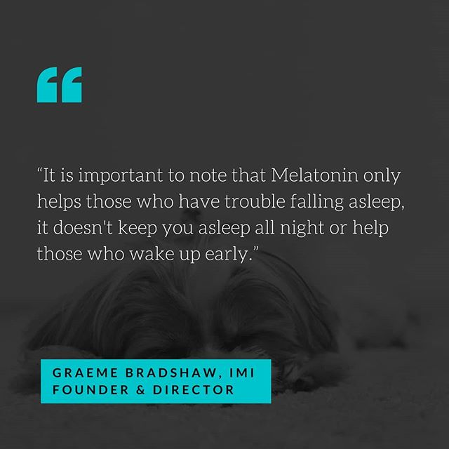 Ever tried Melatonin when you've had trouble sleeping, and it hasn't worked? Well, there might be a reason for that, Melatonin might not be the right choice for what you're trying to treat. In our first video series, Rhea Beilharz interviews IMI Naturopath Philip Watkins about Melatonin and its real role and what to look at if it hasn't worked for you.