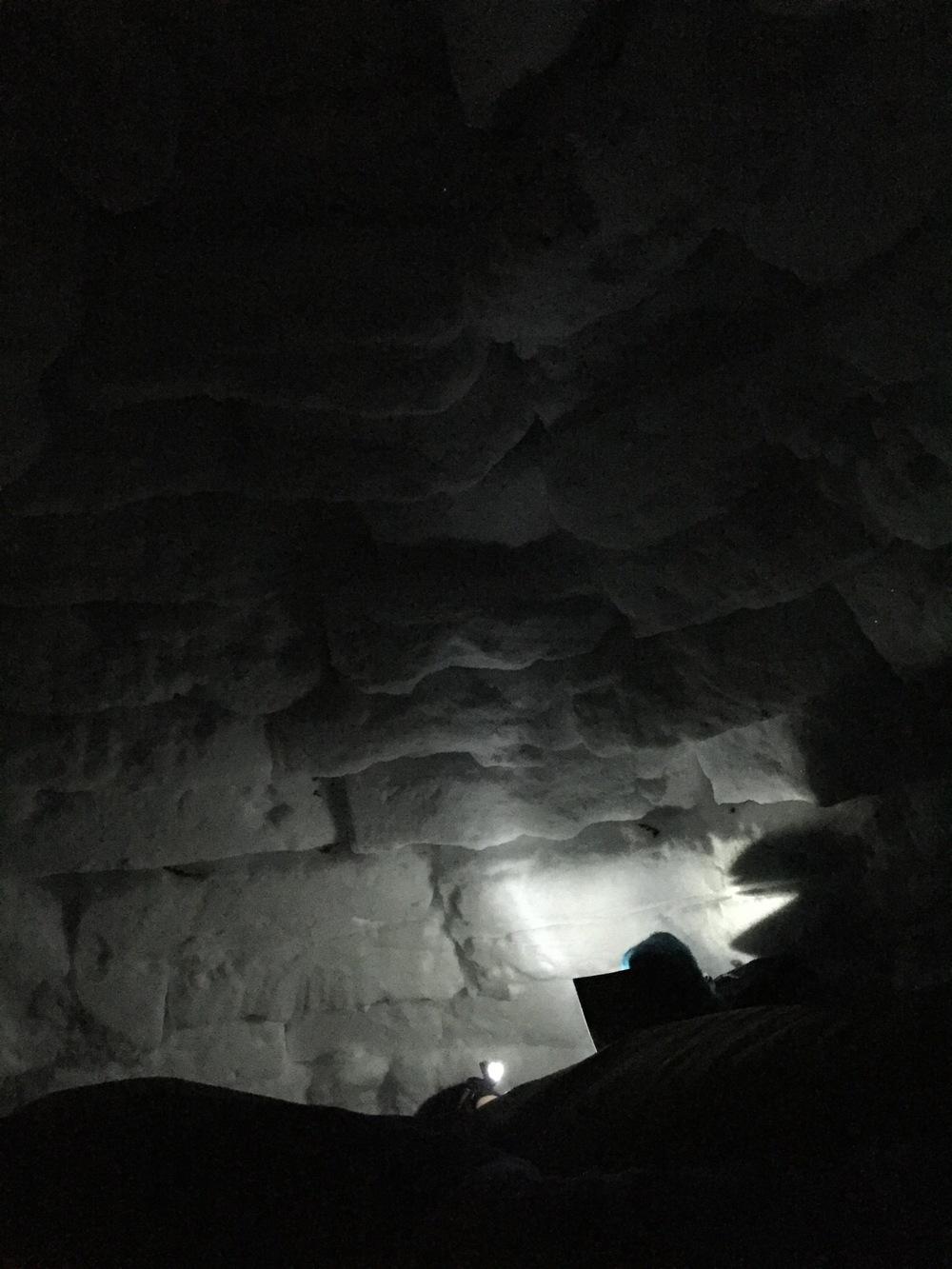 Natt i iglooen