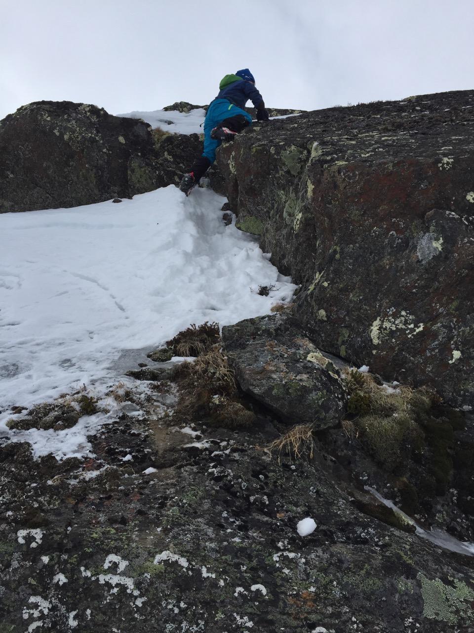 Litt klatring må til