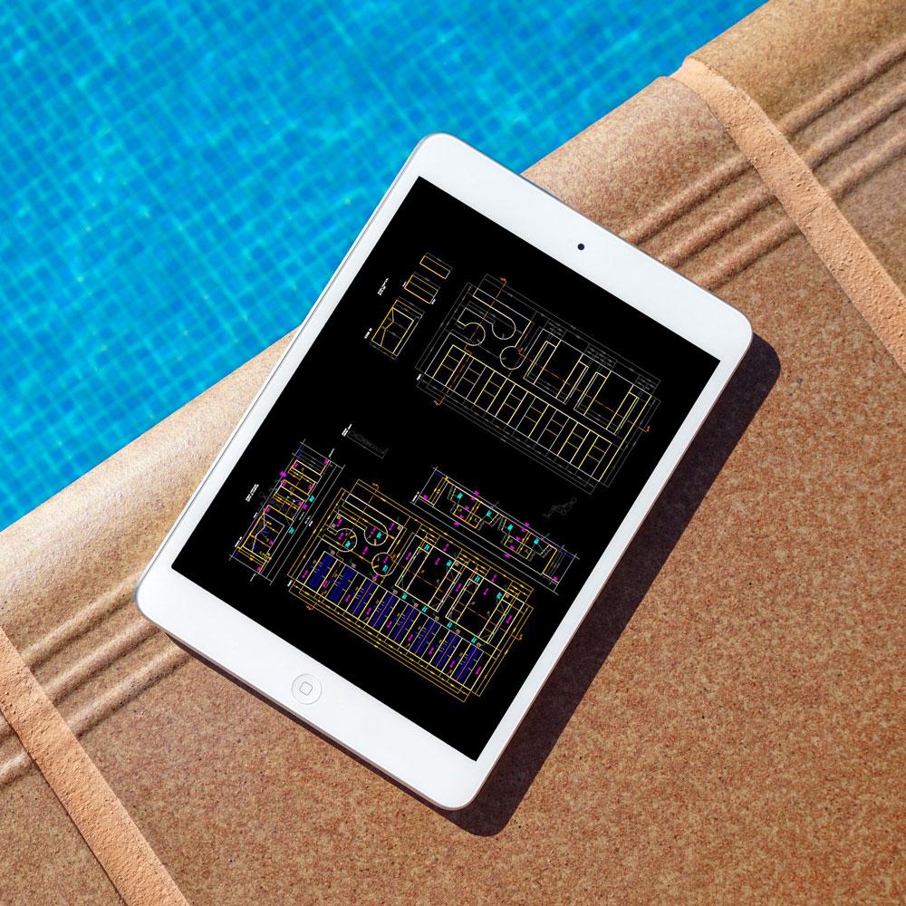 // Progettista - Klimapool garantisce la massima personalizzazione architettonica e impiantistica.Inoltre, la piscina Klimapool è dotata di una leggerezza tale da permettere l'installazione in situazioni particolarmente complesse, su terrazzi, ai piani più alti degli edifici e sui tetti.