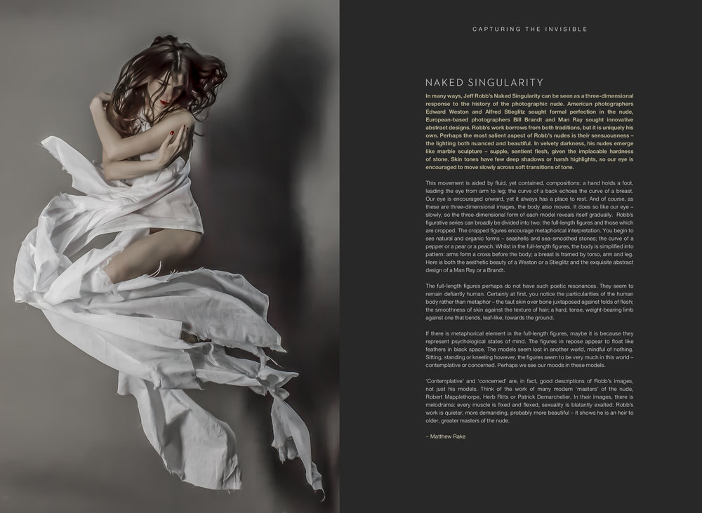 Client :  Jeff Robb Photography  Brief : Book Design Role : Art Direction