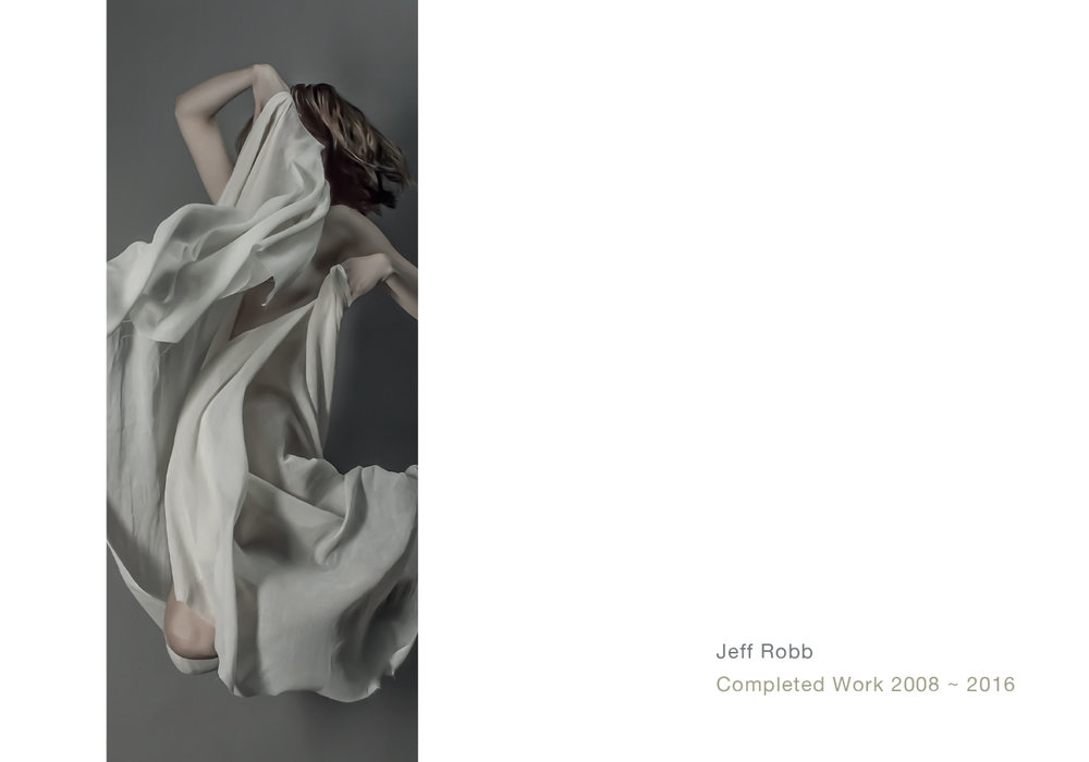 Client :  Jeff Robb Photography  Brief : Exhibition Catalogue Role : Art Direction