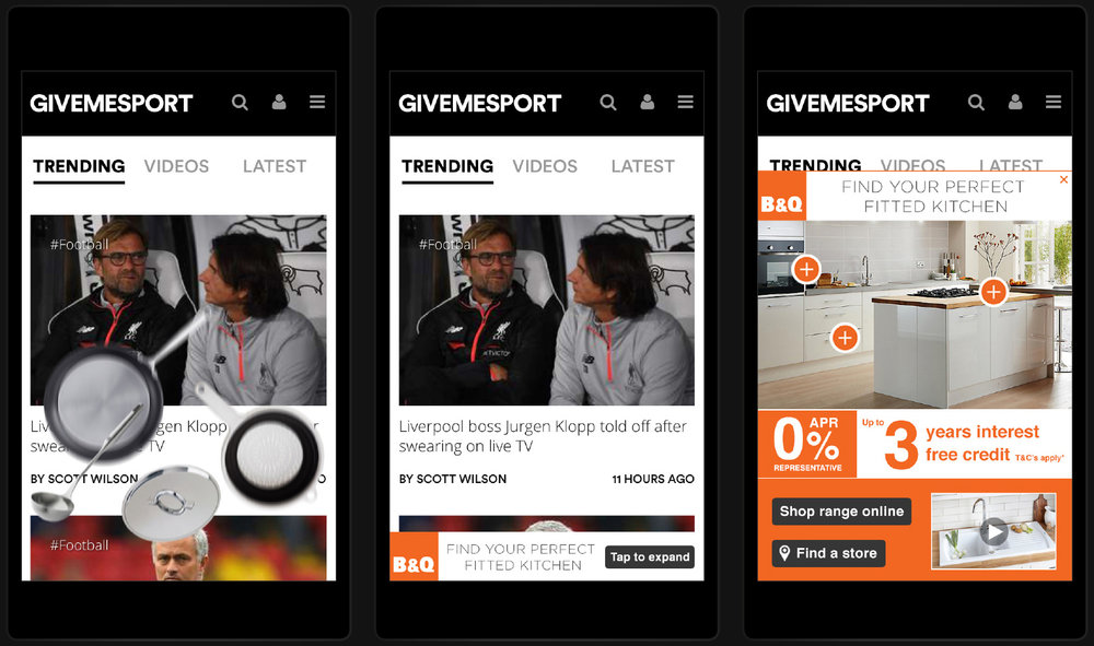 Client :  B&Q  Brief : Mobile Rise Role : Concept And Design