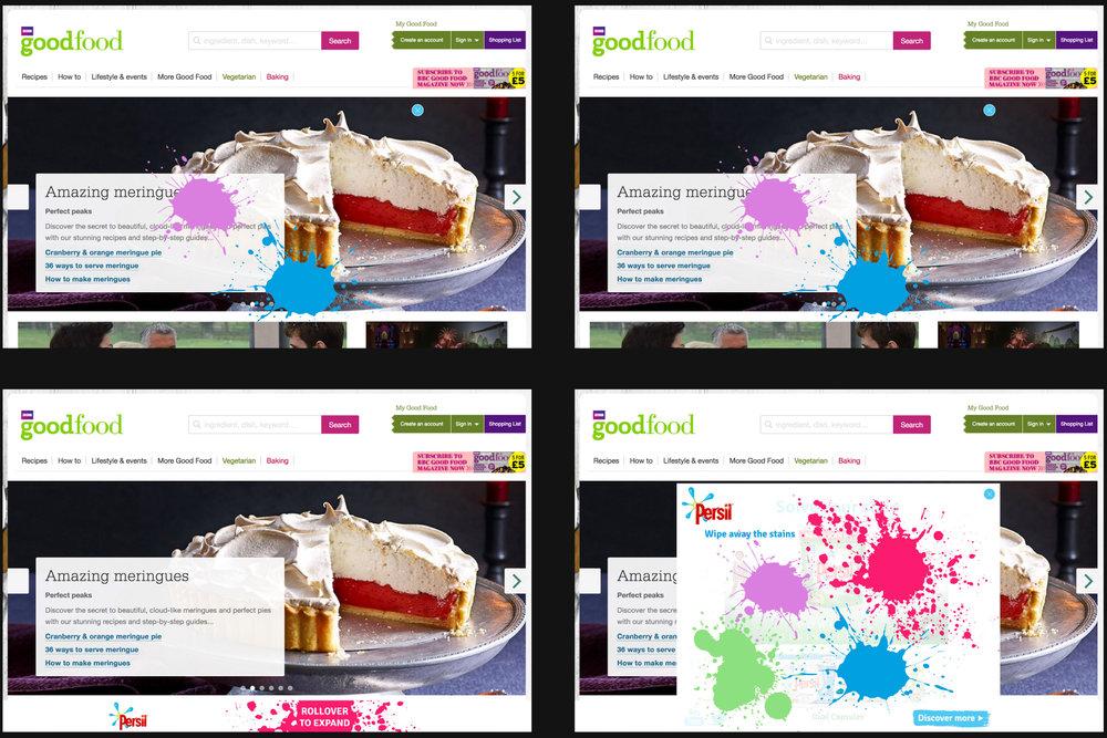 Client :  Persil  Brief : Desktop Rise Role : Concept And Design