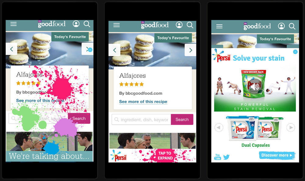 Client :  Persil  Brief : Mobile Rise Role : Concept And Design