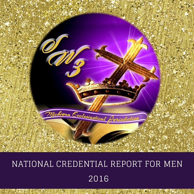 2019 National Credential Holder Report For Men