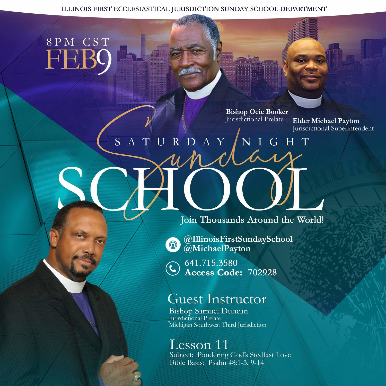 Saturday Night Sunday School — Michigan Southwest Ecclesiastical