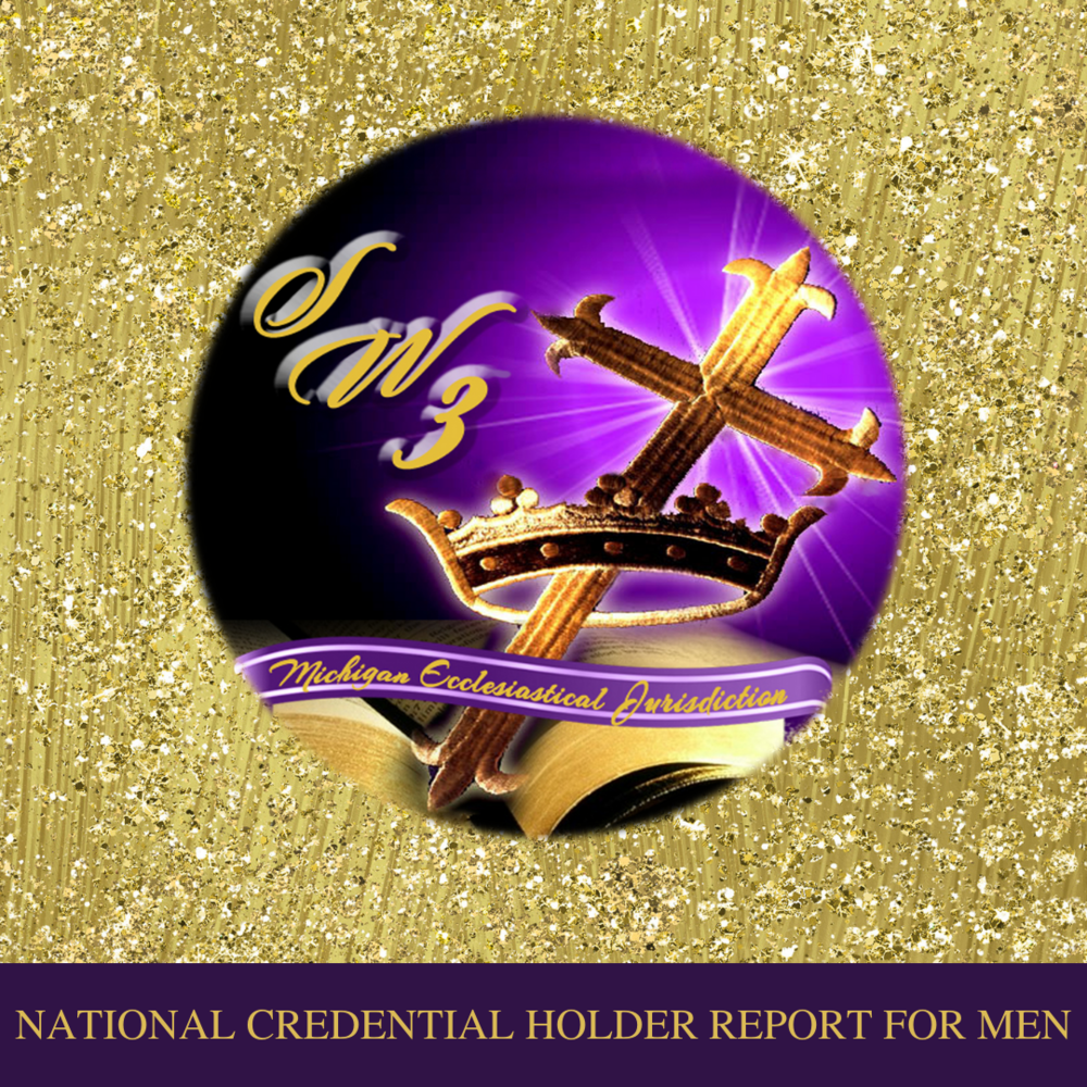 National Credential Holder Report