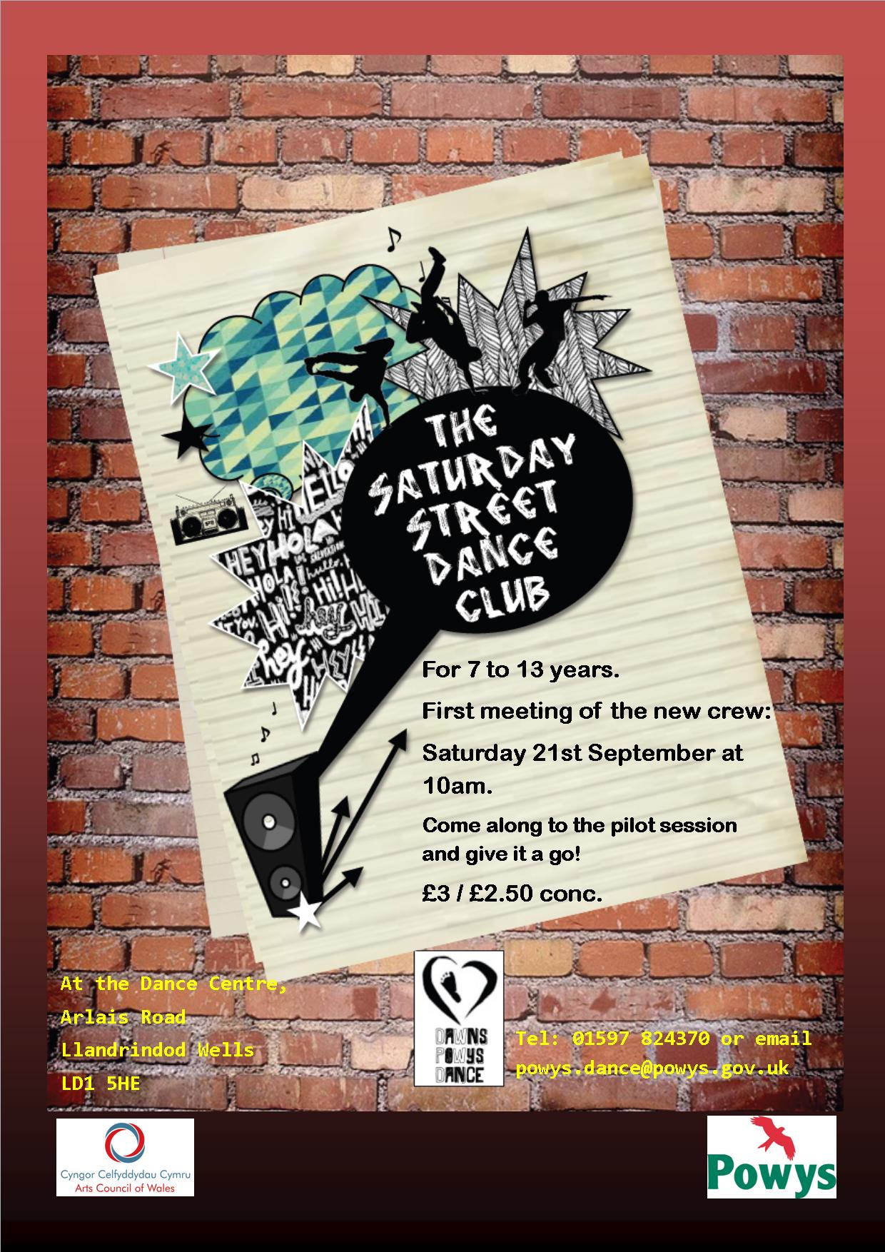 Saturday Street Dance Club