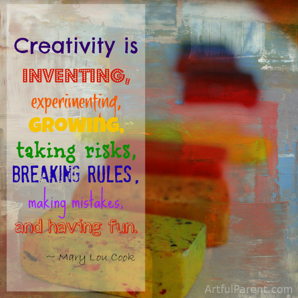 creativity is..