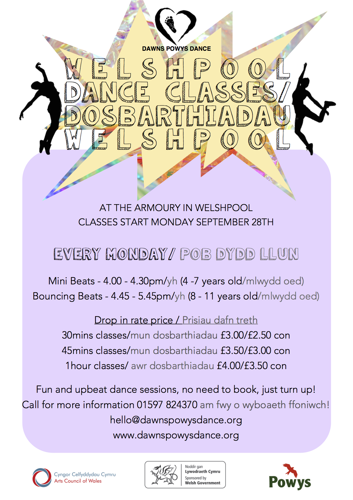 WELSHPOOL CLASSES 15:16