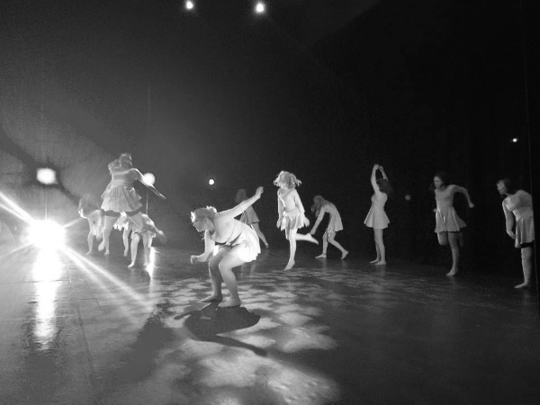 Powys Youth Dance Company perform in Brecon.