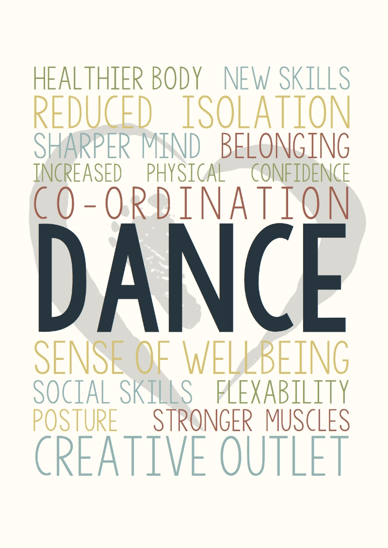 Just some benefits of dance