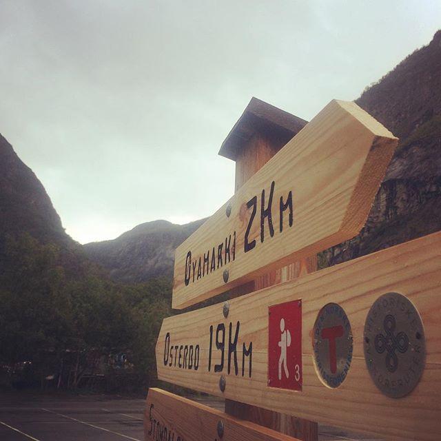 Snart opnar #aurlandsdalen som #historiskvandrerute ! Bli med 23.september på feiringen.  #vandringogverdiskaping #dntosloogomegn #østerbø #vassbygdi @venneravaurlandsdalen