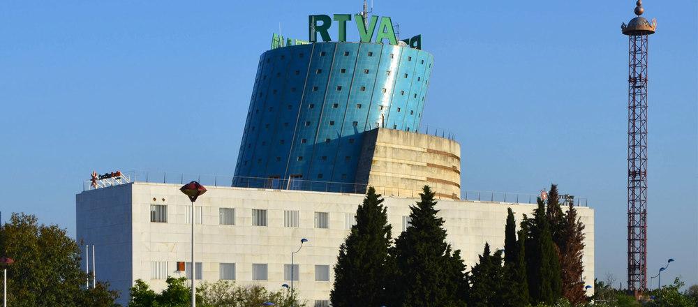 Reforma Pabellón de Andalucía (RTVA)