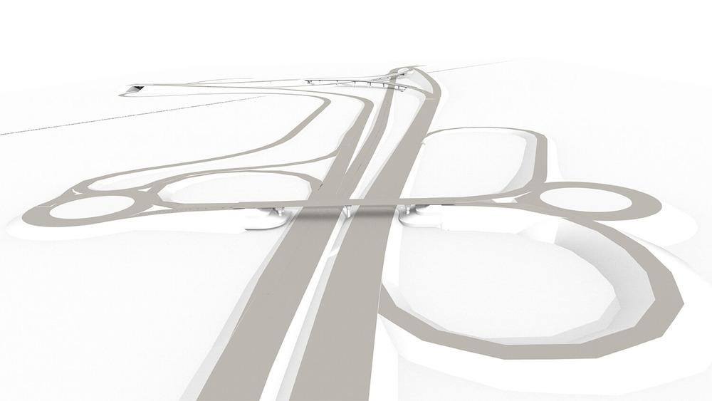 A-8/A-381 Highway Interchange