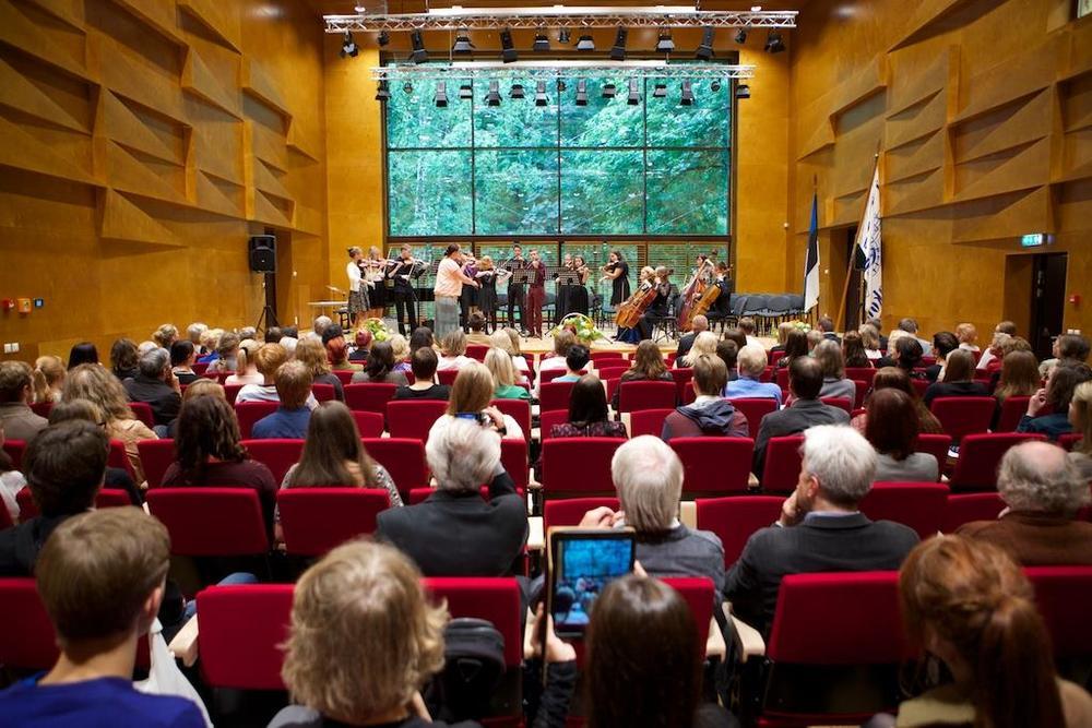 The Concert Hall of Heino Eller Music College.