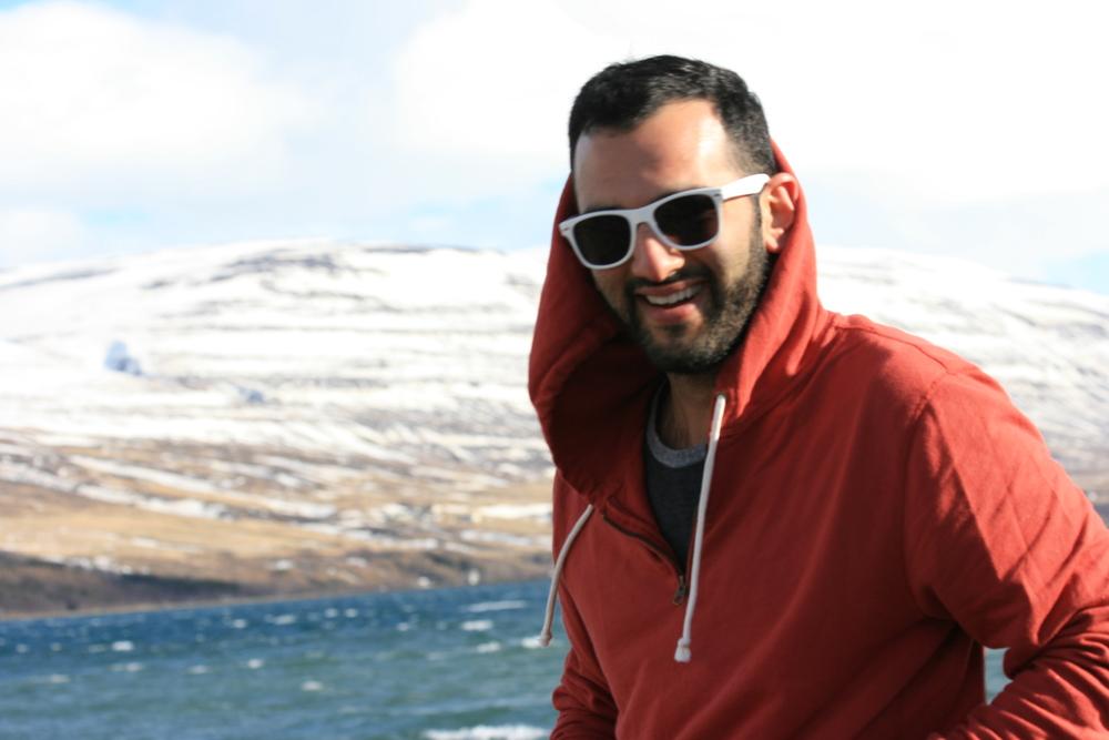 Jonathan in Akureyri, Iceland.