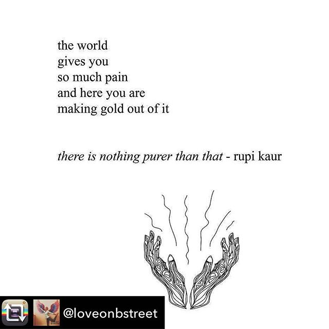 Let's create not destroy. #poetry #artists #poet #love @rupikaur_ @loveonbstreet