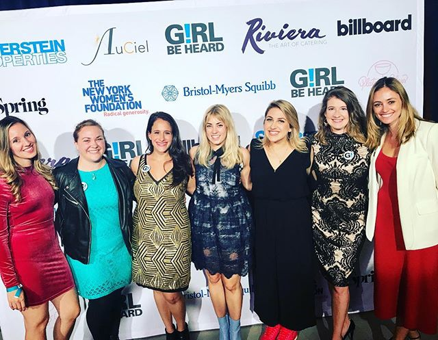 Successful gala for @girlbeheard! Supporting #womenempowerment and #love because god knows we need some of that. #girlpower #love ❤️💪