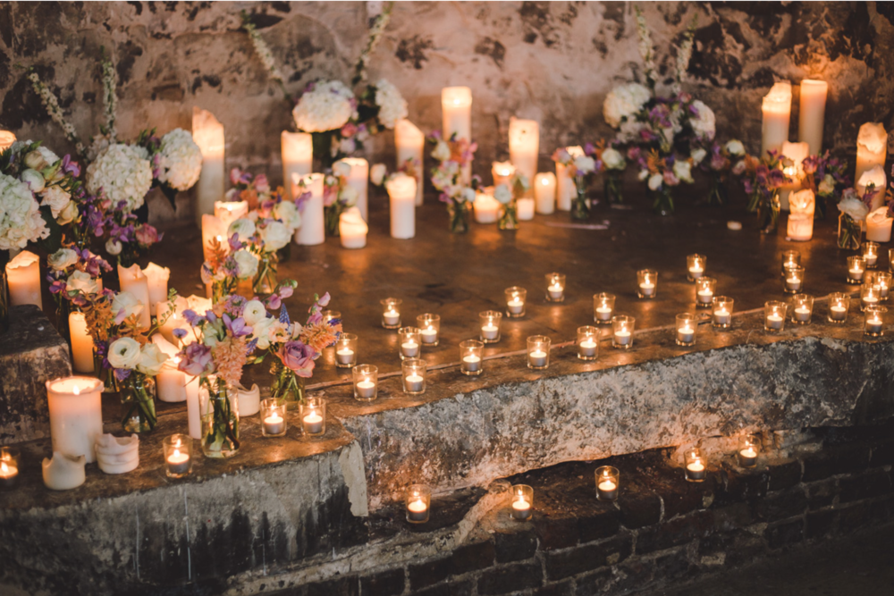 kent wedding florist london asylum peckham nunhead pastel bouquet candles.png
